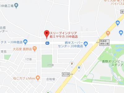 川中島店map
